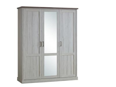 Garde-robe 3 portes Ella