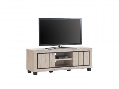 Meuble TV 2 portes Eureka