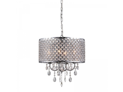 Suspension style chandelier